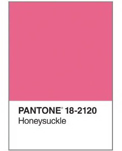 Pantone Honeysuckle Journal (Diary) 18-2120