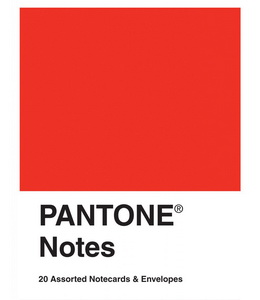 Pantone Notes : 20 Different Notecards & Envelopes
