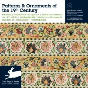Patterns & Ornaments of  the 19th Century (w/CD-Rom)