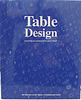 Table Design, : Everything you wanted to know about