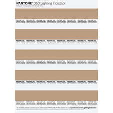 PANTONE®  LIGHTING INDICATOR Stickers    LNDS-1PK-D50 