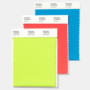 PANTONE® nylon brights swatch card