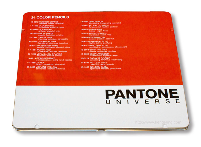 Pantone Universe Colored Pencils set of 24